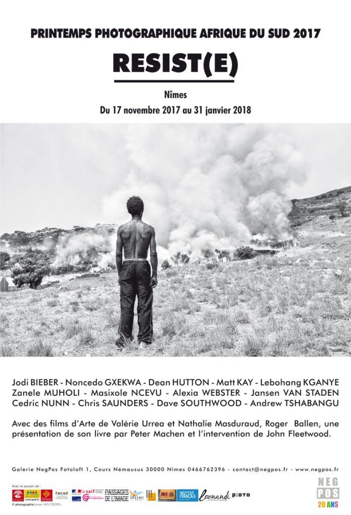 PRINTEMPS PHOTOGRAPHIQUE N°11 – 2017 – RESIST(E) – SPÉCIAL AFRIQUE DU SUD