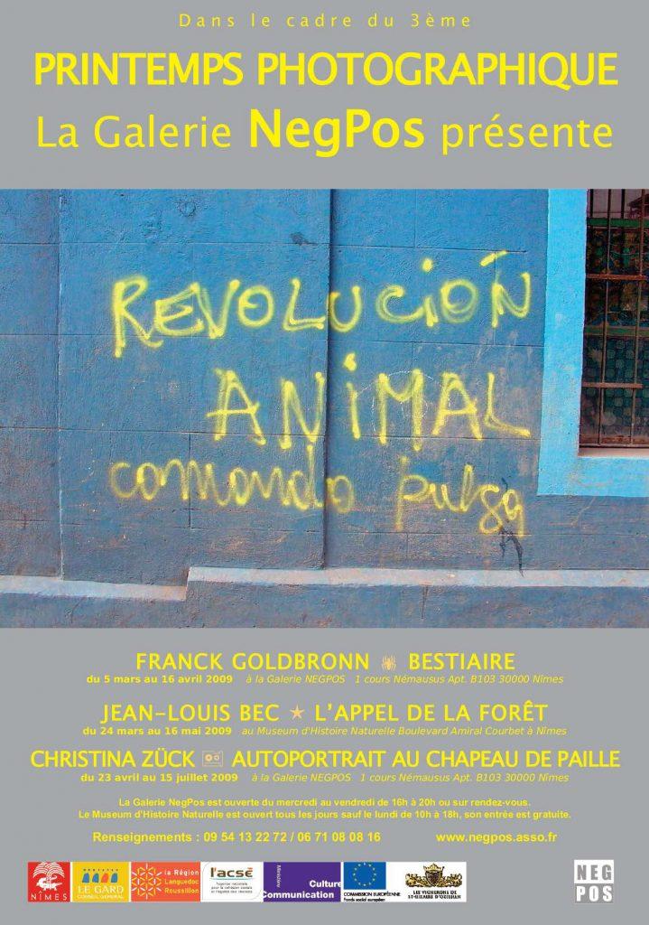 PRINTEMPS PHOTOGRAPHIQUE N°3 – 2009 – Revolución animal