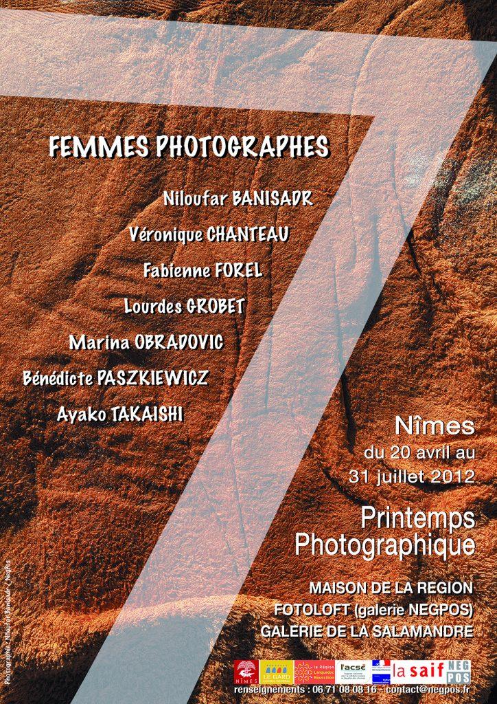 PRINTEMPS PHOTOGRAPHIQUE N°6 – 2012 – Femmes photographes