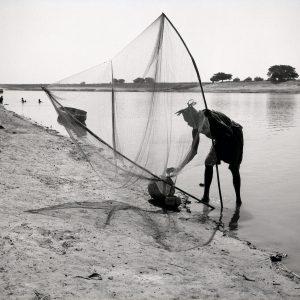 Maya Bracher – Le vieux pêcheur (au bord du fleuve Sénégal), Kaedi, 1958