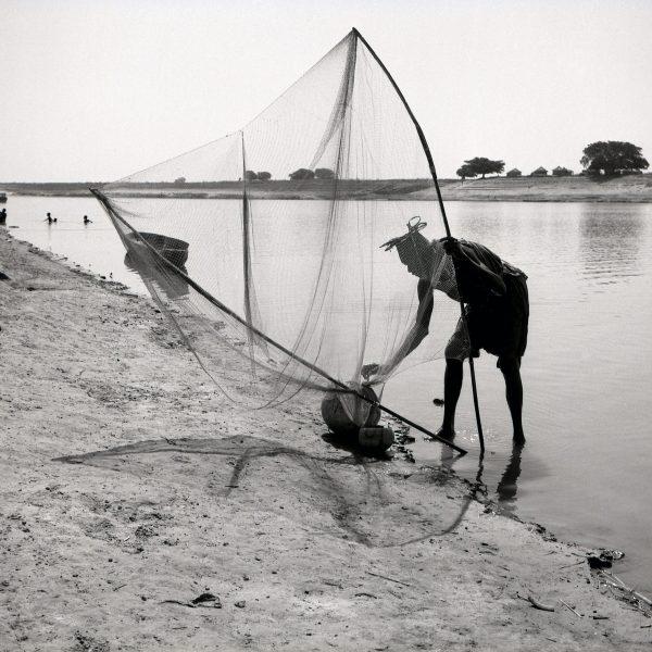 Maya Bracher Le vieux pêcheur