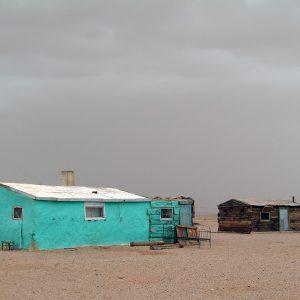 Eric Lusito – Deux maison, Mongolie, 2008